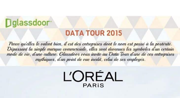 GLASSDOOR DATA TOUR : Entreprises mythiques françaises. L'Oréal