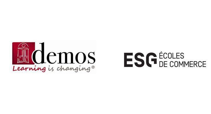 Formations certifiantes : Demos signe un partenariat avec l'école ESG