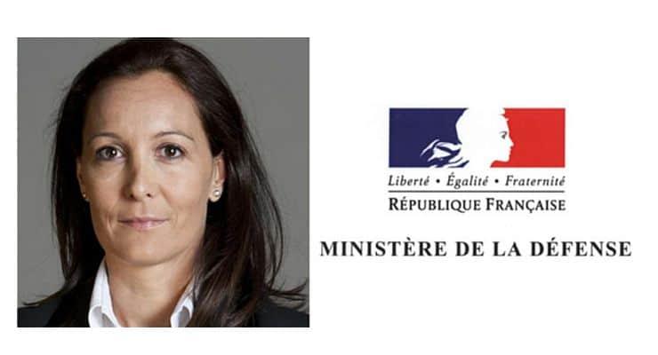 Prise de fonction d'Anne-Sophie AVÉ, nouveau directeur des ressources humaines du ministère de la Défense