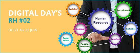 Digital Day's RH#02  du 21 au 22 juin
