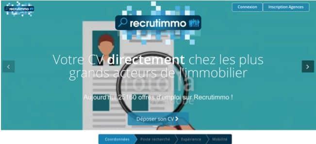 Lancement de Recrutimmo.com, la première plateforme de recrutement dédiée au marché de l'immobilier