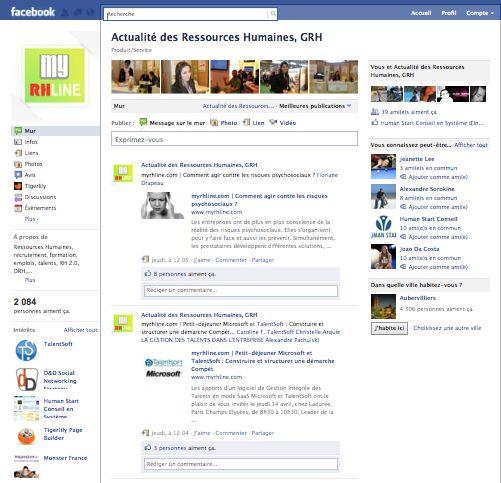 Page Fan Facebook : aubaine ou fausse bonne idée pour les RH ?