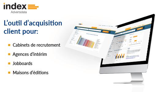 index Advertsdata, l'outil de prospection pour les acteurs du marché de l'emploi