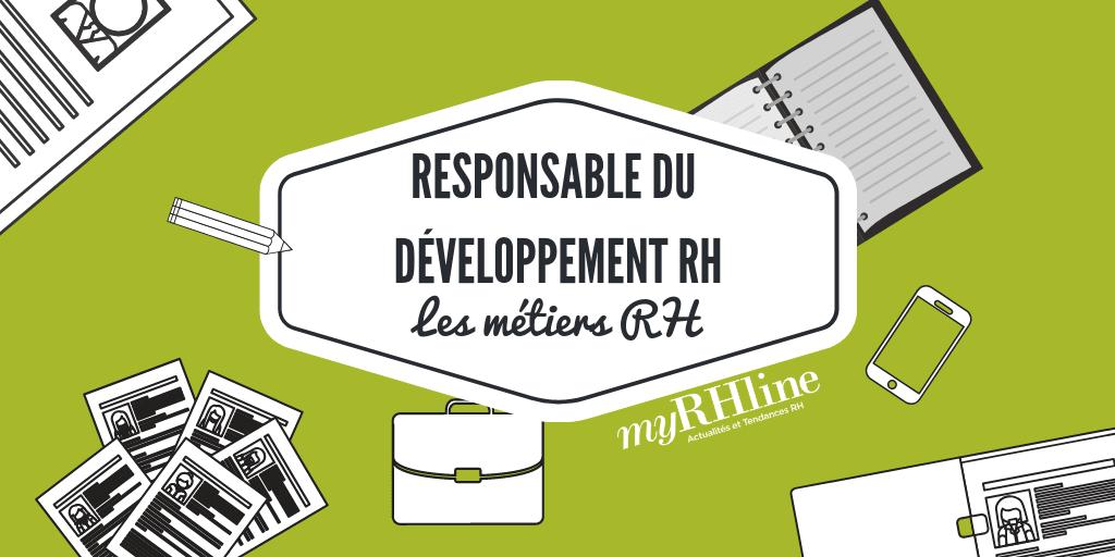 Les métiers de la fonction RH : Responsable du développement RH