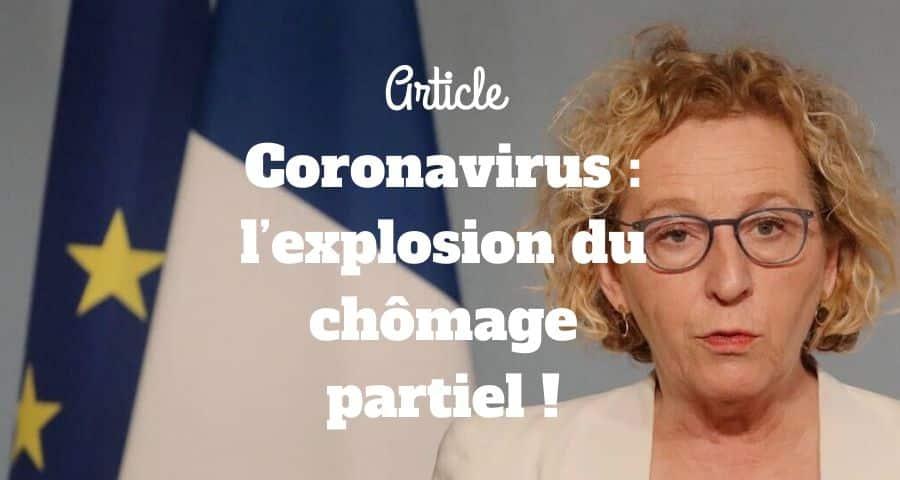 Coronavirus : l'explosion du chômage partiel !