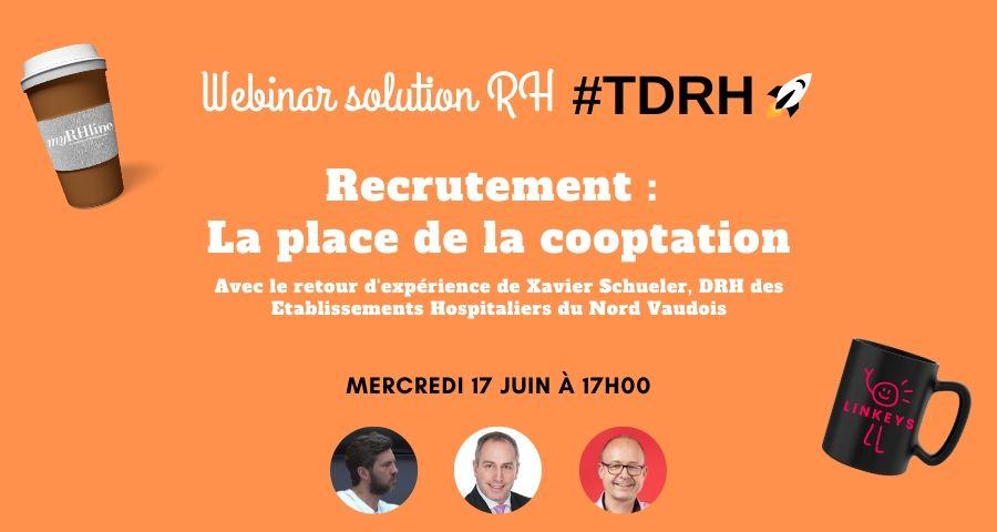 Webinar solution RH : La place de la cooptation