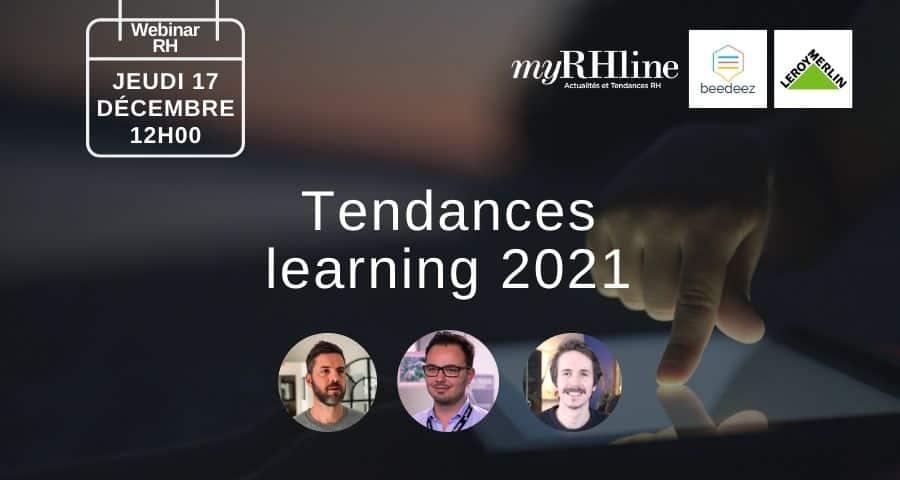 Webinar RH : Les tendances du learning pour 2021
