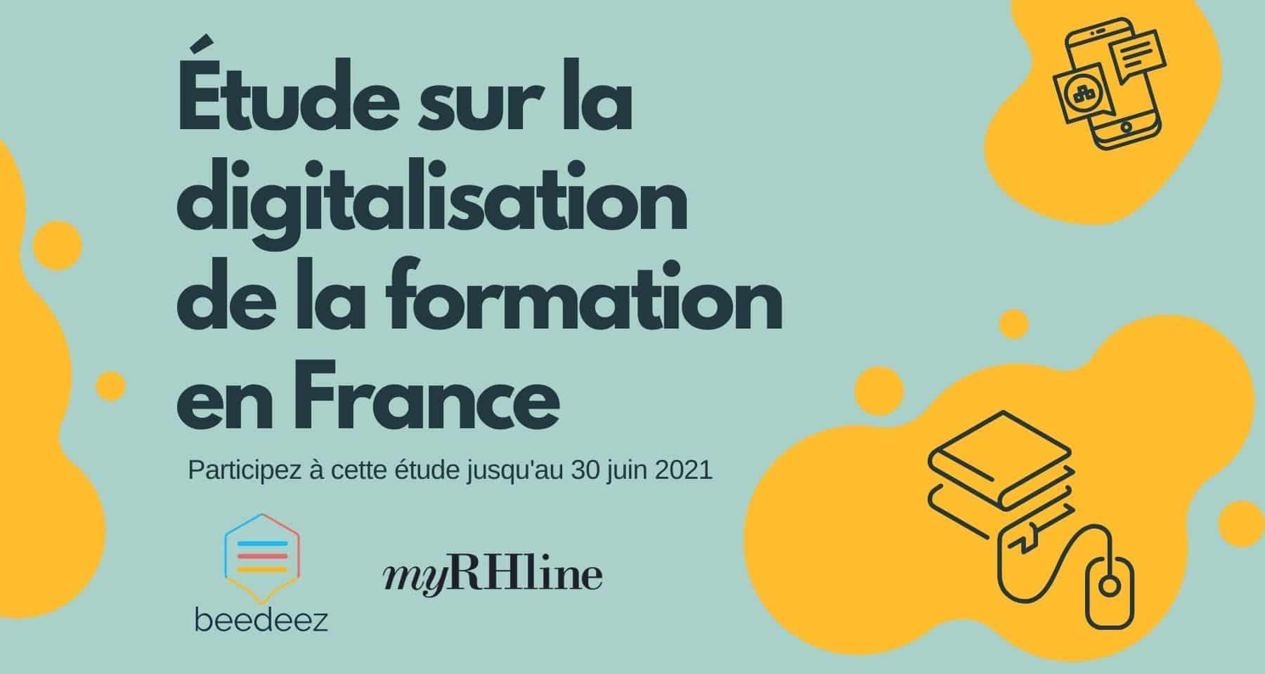 Étude sur la digitalisation de la formation en France
