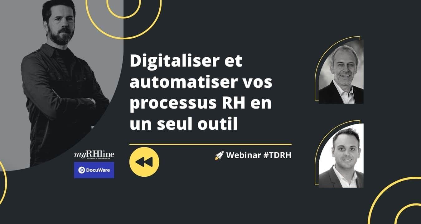 Replay Webinar RH : Digitaliser et automatiser vos processus RH en un seul outil