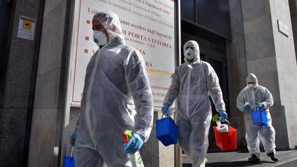 Italy badly affected with CoronaVirus