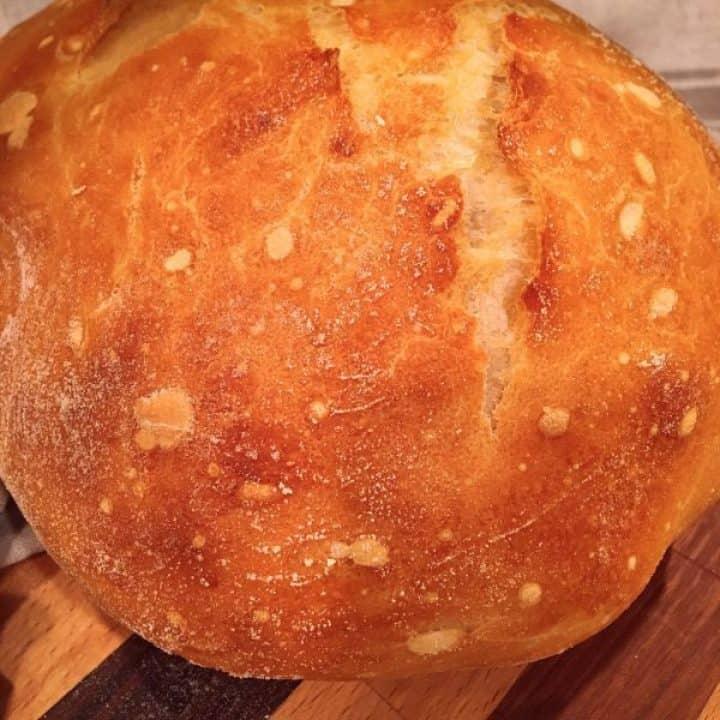 No Knead Artisan Bread