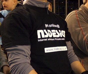 The beautiful NSDesign T-shirt