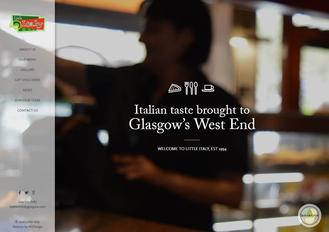 Little Italy - Design & Development | WordPress Integration