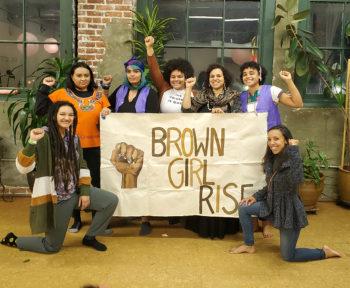 Brown Girl Rise team photo