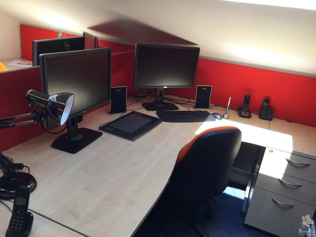 Painting Pixels Work Area