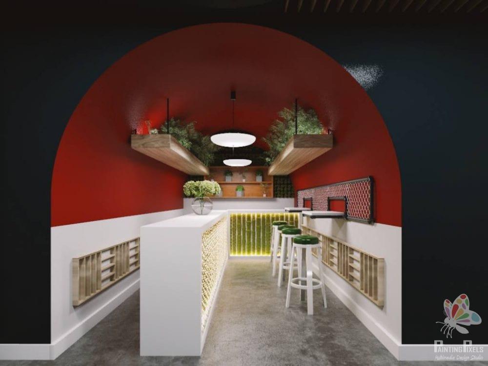 Painting Pixels Ipswich Suffolk 3D Render Architectural Design Studio Multimedia 3