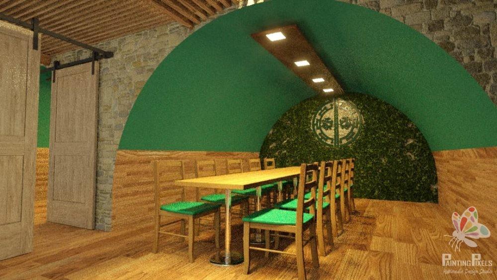 Painting Pixels Ipswich Suffolk 3D Render Architectural Design Studio Multimedia 5