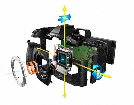 Olympus OM-D E-M1 Mark II image stabilization