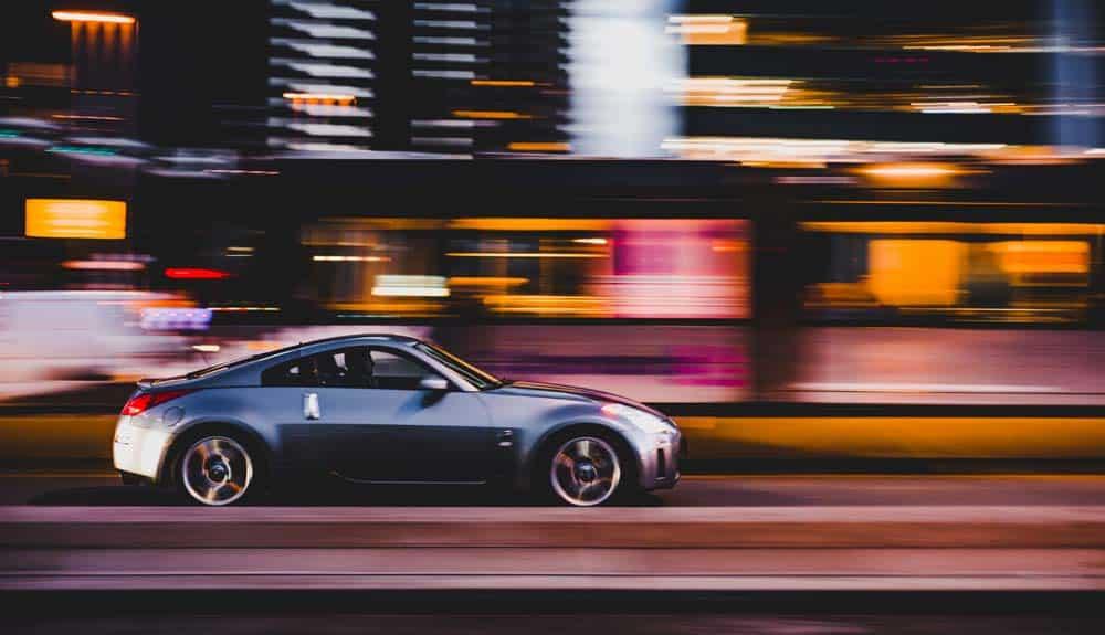 motion blur car