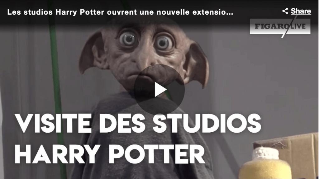 Visite des studios Harry Potter avec Le Figaro
