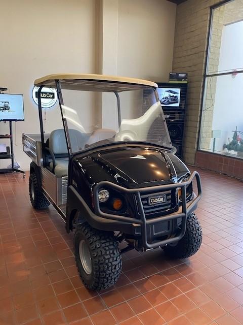 (OXN) New Club Car Carryall 550 Electric Utility Vehicle -Black
