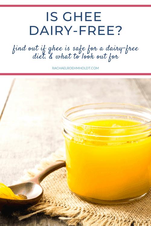 Is ghee dairy-free
