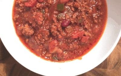 Gluten-free Crockpot Chili