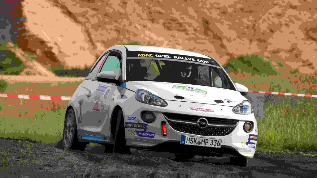 Martin Menzing & Alex van Dijk - Opel Adam - ADAC Rallye Stemweder Berg 2019