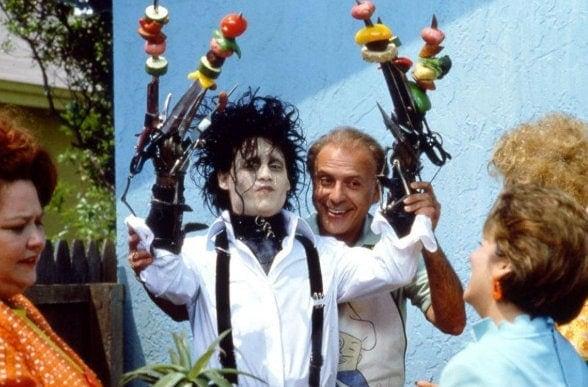 Edward aux mains d'argent Tim Burton 1989