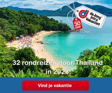 Betaalbaar naar Thailand met De Jong Intra