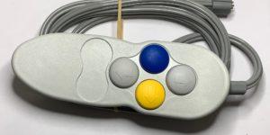 6451-0003, Four Button, Straight Tube