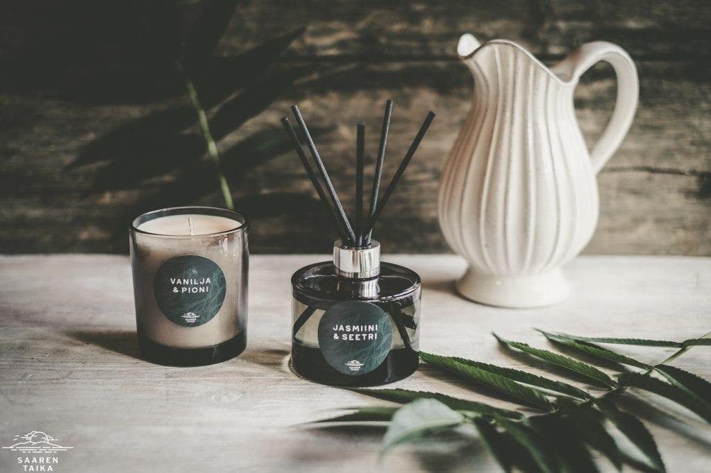 Saaren Taika tuoksukynttilä kynttilä soijakynttilä (3 of 9)