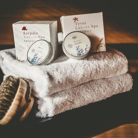 saaren taika karpalo luksus spa saippua (1 of 1)