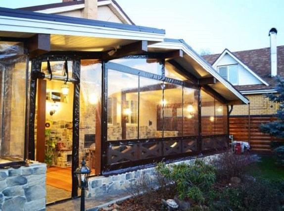 Защитные шторы из пвх