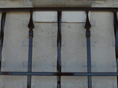 решетки с коваными элементами