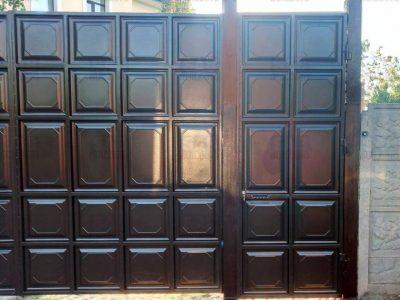 Филенчатые ворота цена в Харькове