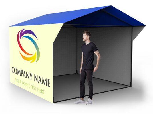Палатка с логотипом