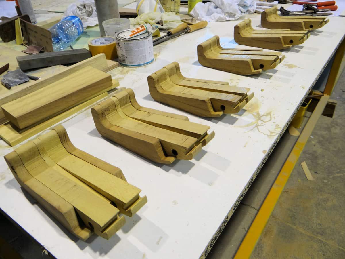 Prototype des poignées bois