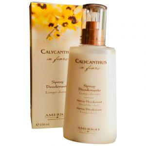 Calycanthus Spray Deodorante