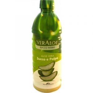 VerAloe Succo e Polpa di Aloe Vera Bio