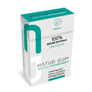 Natur Gum Menta con Stevia