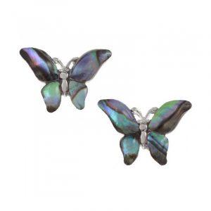 Orecchini Farfalla Conchiglia di Paua