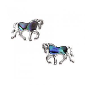 Orecchini Cavallo Conchiglia di Paua