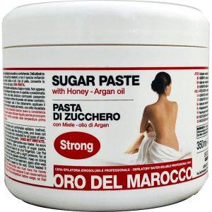 Oro del Marocco Pasta di Zucchero Epilatoria Strong