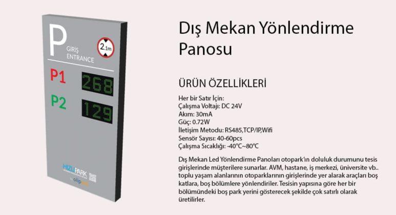 Akilli-Otopar-Yonlendirme-Panosu