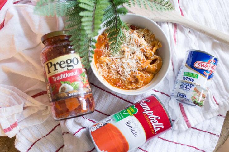 Delicious Creamy Tortellini Tomato Soup