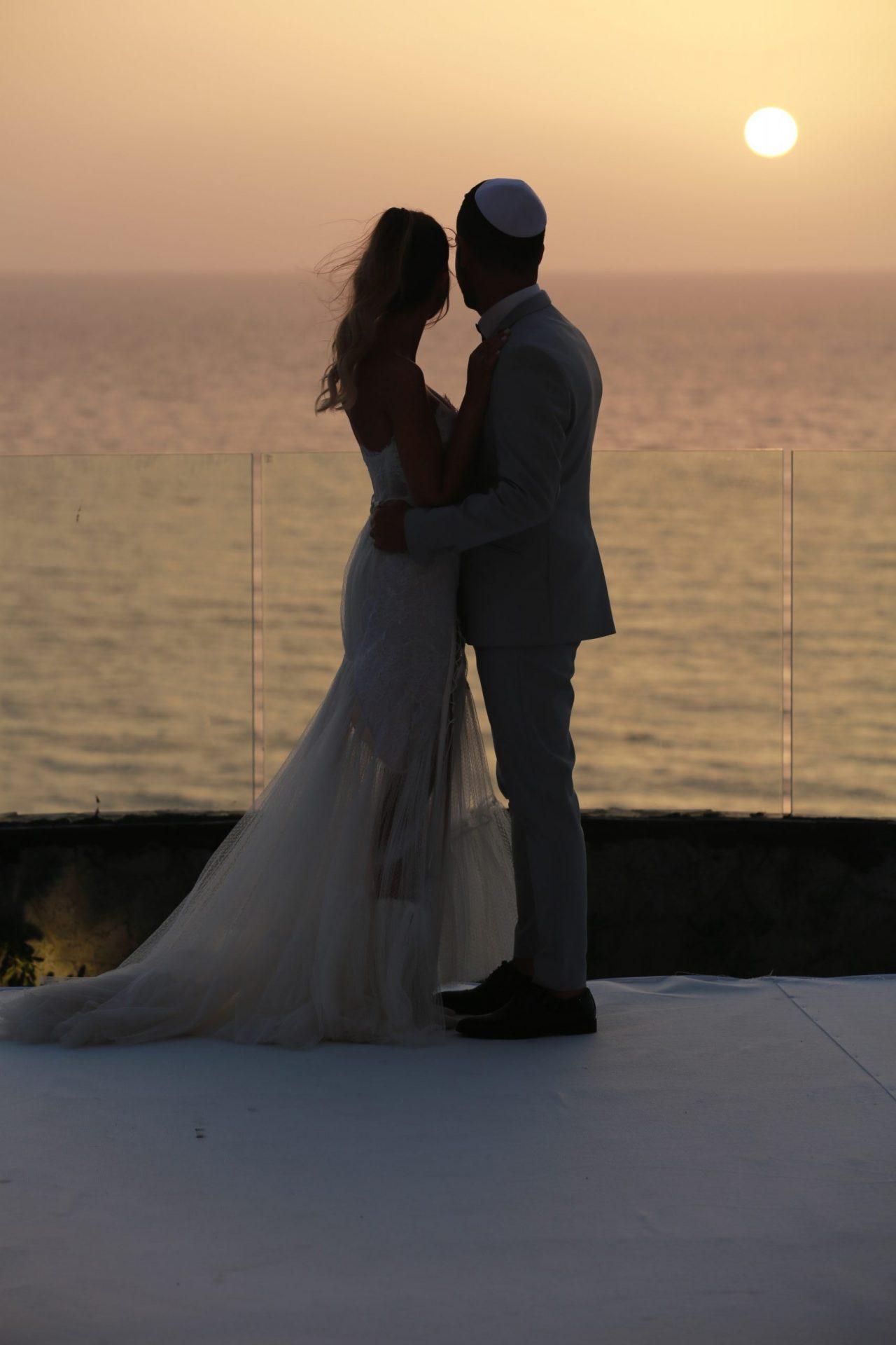 צילום חתונה מול הים