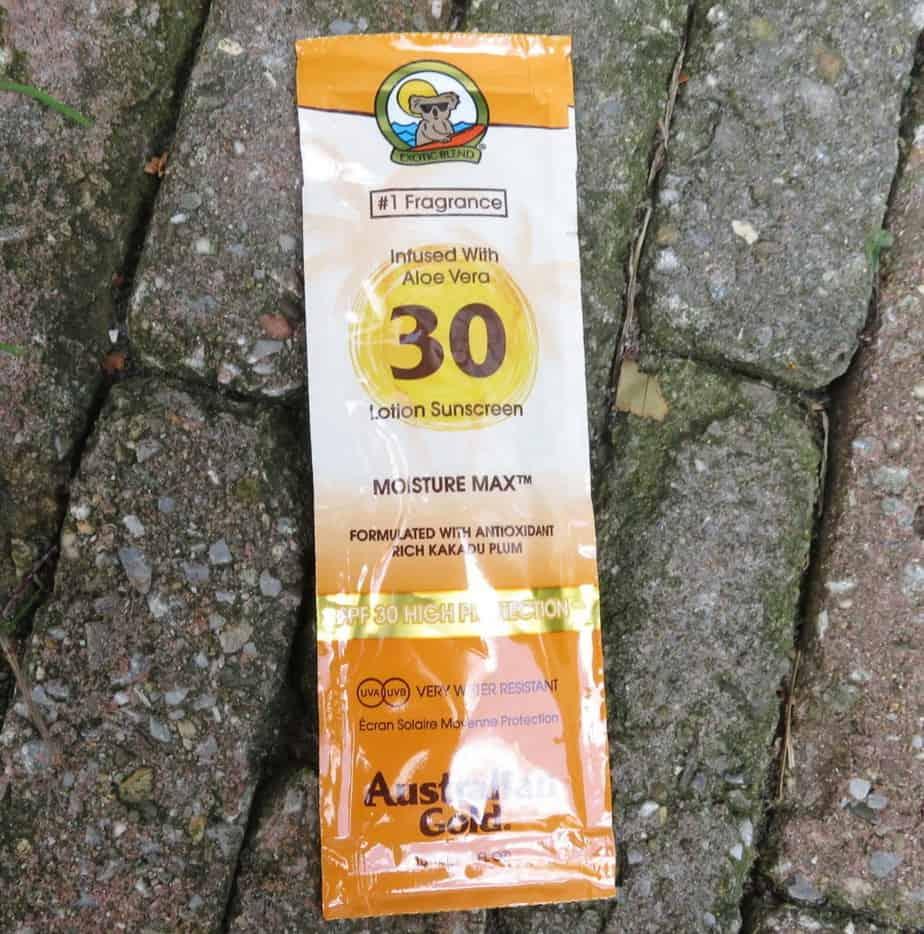 De Australian Gold lotion met SPF 30 en aloe vera