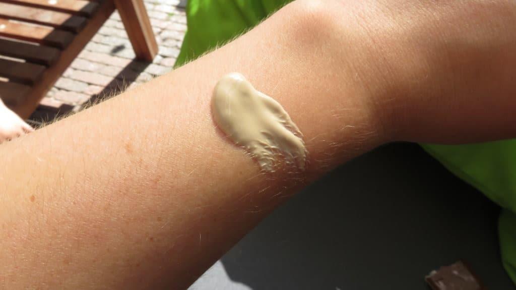 De aloe vera zonnebescherming van Australian gold