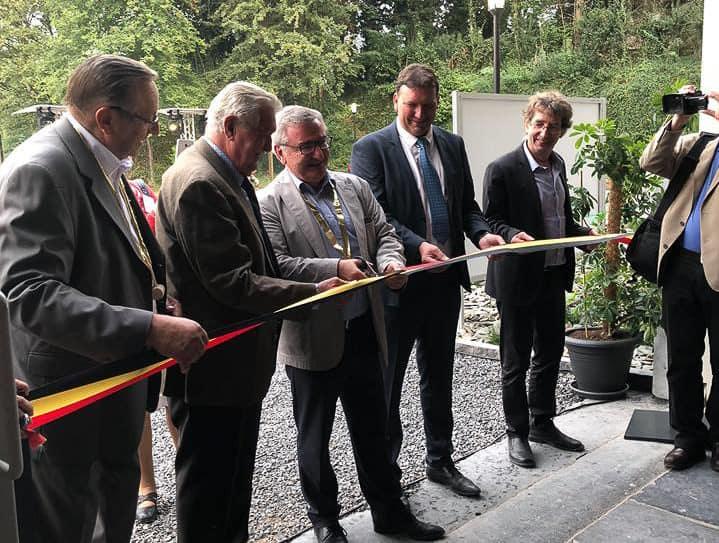 Inauguration du Centre d'interprétation de la Pierre de Sprimont organisée par So Event.